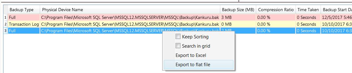 New Datagrid